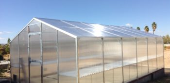 Our backyard aluminum greenhouse kit is the perfect DIY project for gardeners across America.